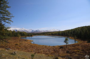 озеро Киделю. Горный Алтай, Улаганский район.