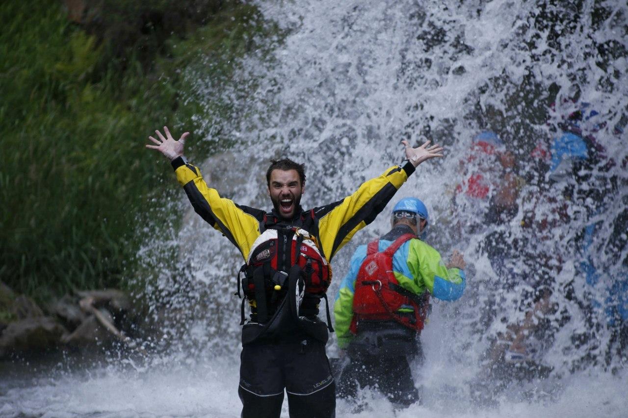 Камышлинский водопад. Алтай