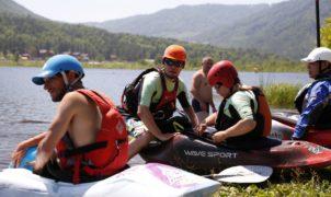 ozero manzherok altai kayaking