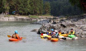обучение каякингу на алтае река катунь