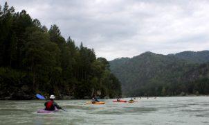 река катунь каякинг на алтае