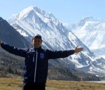 вид на гору Белуха