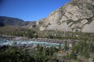 каяк-лагерь Алтай мир