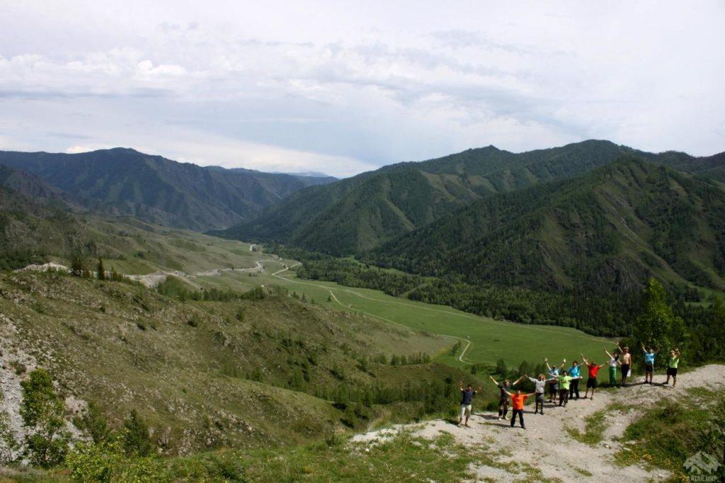 индивидуальные туры по Алтаю - перевал Чике-Таман, Чуйский тракт