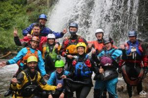 Камышлинский водопад. Горный Алтай