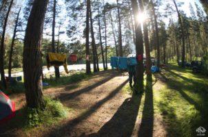 каяк-лагерь на алтае